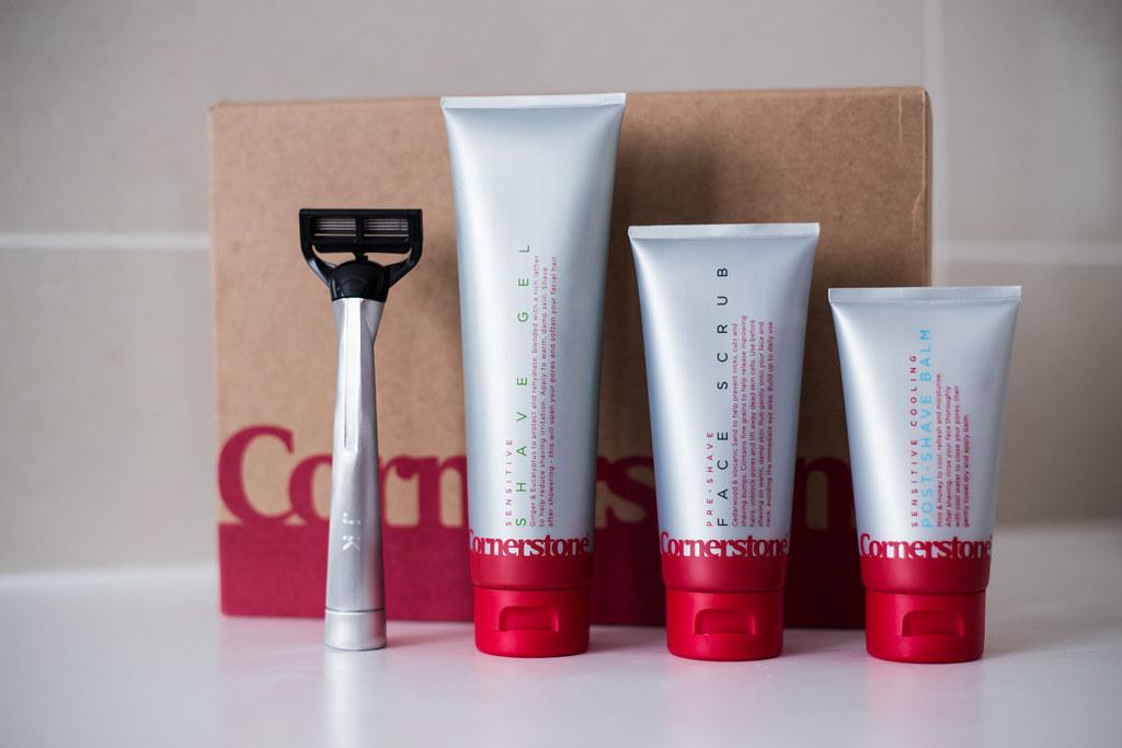 Cornerstone Shave Set