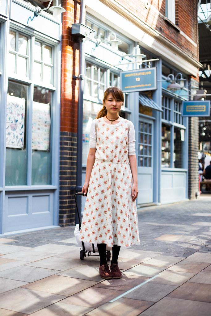 Street Style - Jemima, Spitalfields Market