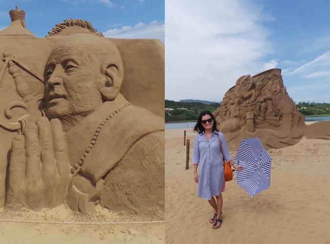 Taiwan Sand Castle