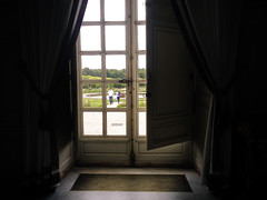 Rear window, Grand Trianon