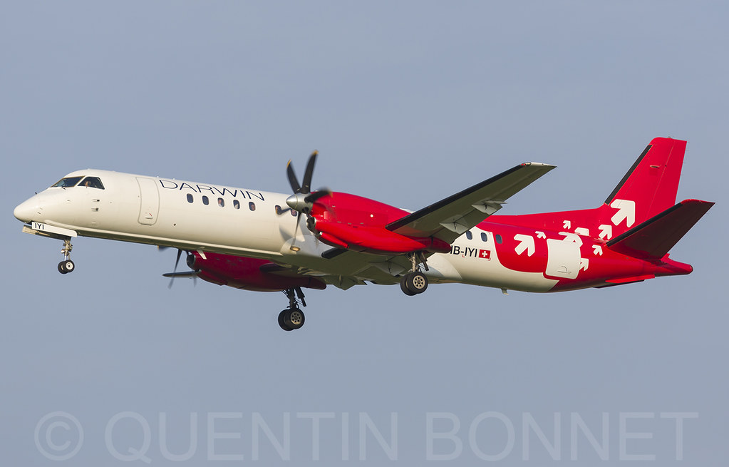 Darwin Airline Saab 2000 HB-IYI