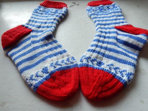 полосатые носки4