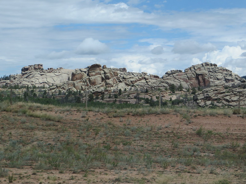 Rocks, Wyoming