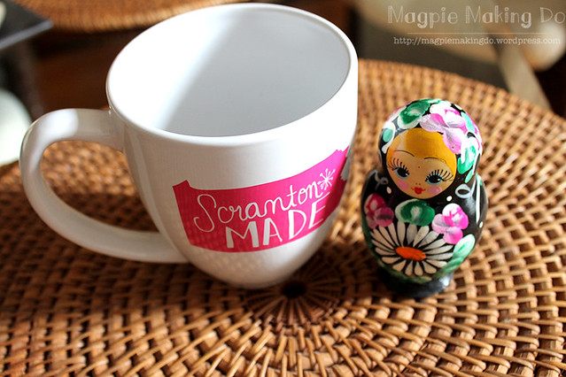 mug and matryoshka