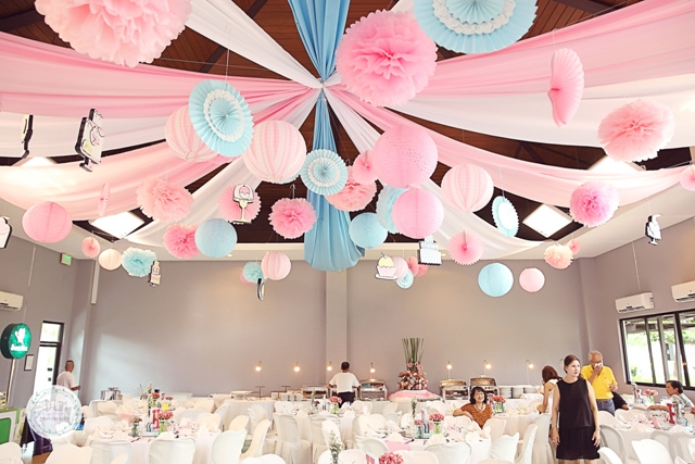 Hailey s dainty little bakeshop themed party 7th for Table design for debut