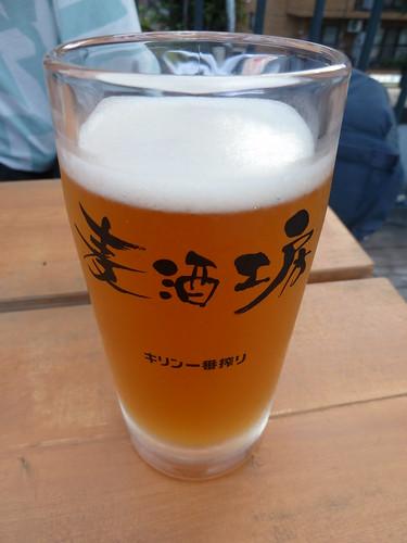 ジンジャービール@阿佐谷ビール工房