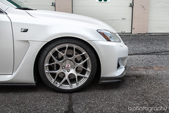 ISF on HRE wheels