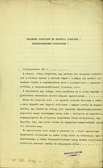 040. Bács-Bodrog vármegye törvényhatósági bizottságának részvétnyilvánító levele és határozata