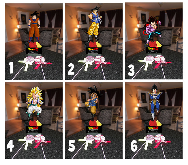 Dragon Ball Z Centerpieces Birthday Party Ideas Diy