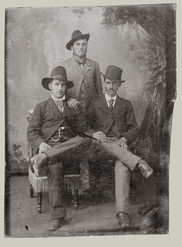 Tintype three men