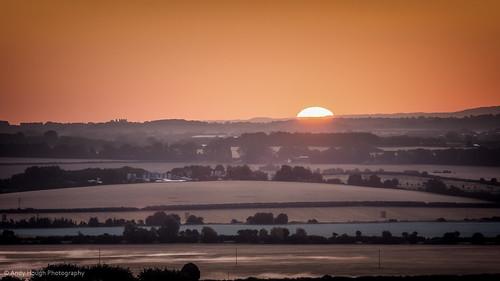 morning england orange sun sunrise landscape unitedkingdom sony horizon a77 littlewittenham sonyalpha andyhough slta77 andyhoughphotography