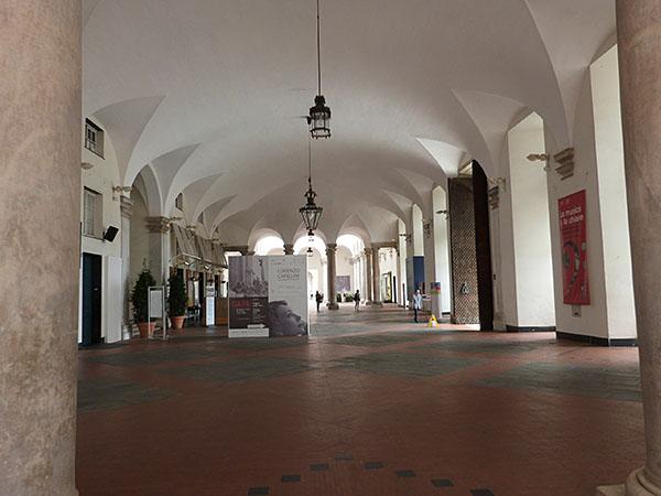 l'intérieur du palais ducal