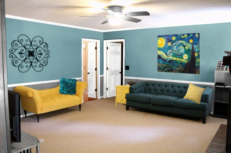 Living Room, paint idea 2