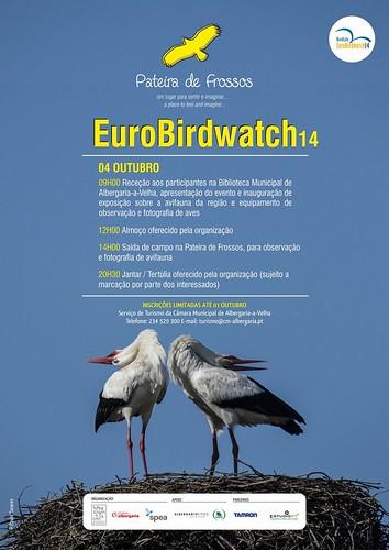 Cartaz Eurobirdwatching14 - Pateira de Frossos