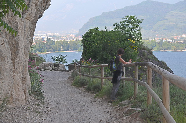 Ponale Road, Lake Garda, Italy