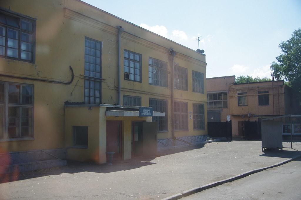 Один из корпусов довоенной постройки