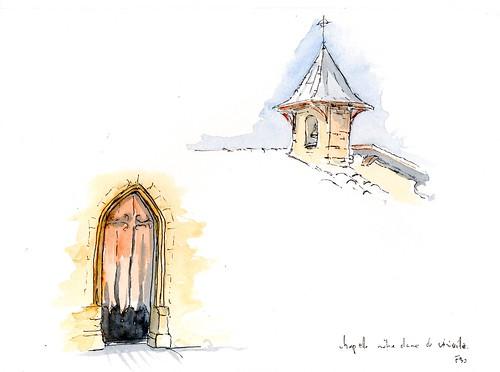 Viriville-détails de la chapelle de Grolée