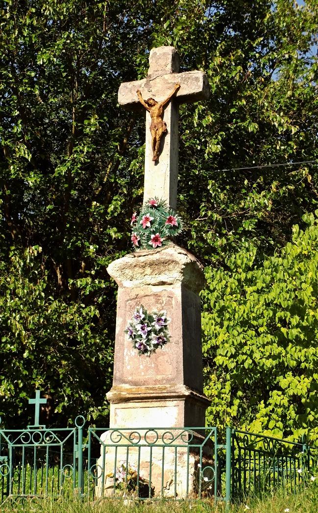 Prvý kríž pri ceste do Vrbovky