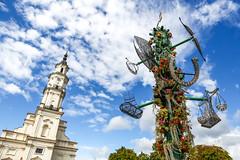 Kaunas Town Hall and Key Tree