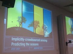 Implicitly-crowdsourced sensing