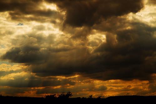 sunset red sky wolke could kimmel sonnenuntergangwolkewolkencloudhimmelsky
