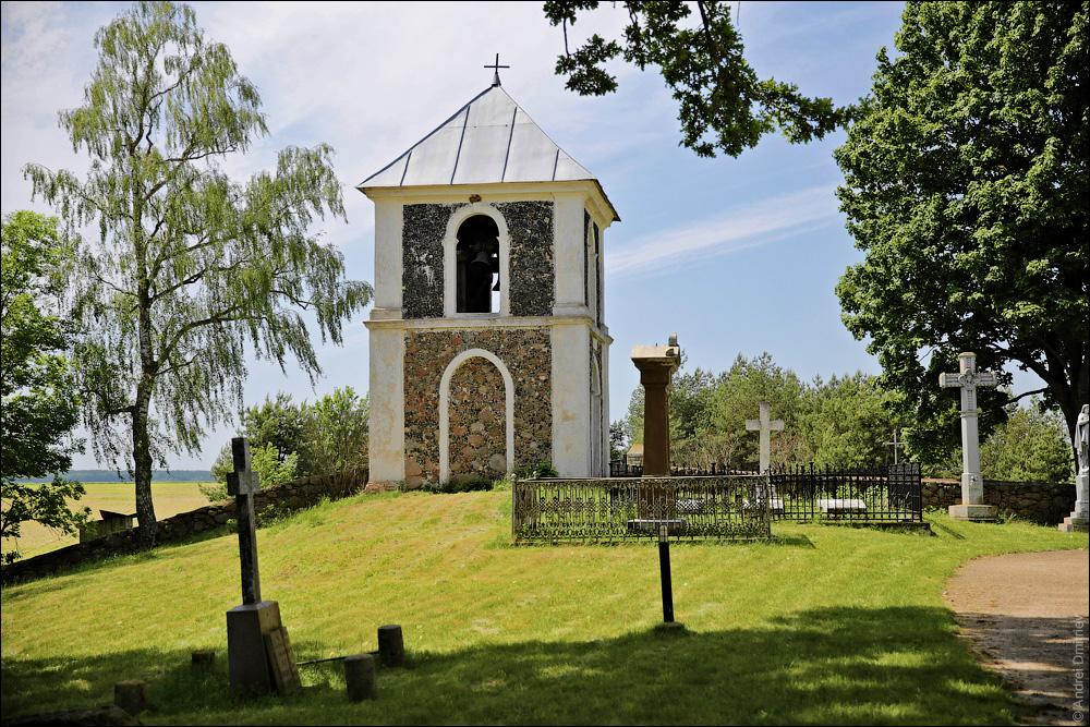 Струбница, колокольня Троицкого костела