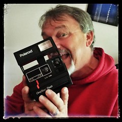 The #Original #instagram #machine. #PolaroidOneStep #camera my mom just sent me. #photography #oldschool #film #photojournalism #blackandwhite