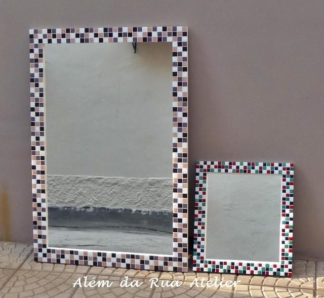 Espelhos de mosaico