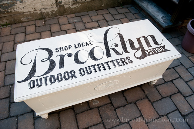 Brooklyn Outdoor Outfitters Trunk | www.brooklynlimestone.com