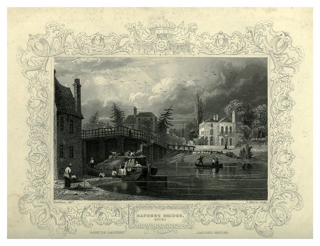 007- Puente de Datchet-The Thames and Medway…W.G. Fearnside
