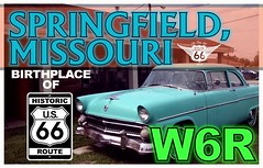 qsl template ROUTE 66