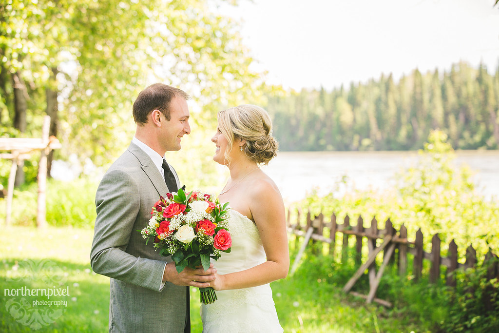 British Columbia Wedding Photographer Farm Wedding Venue in Prince George BC
