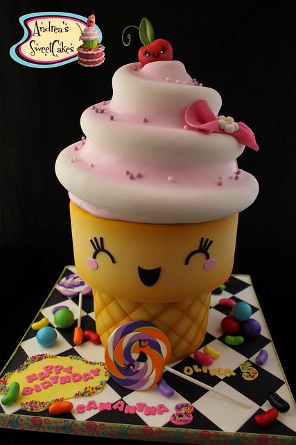 Bunny Shaped Cupcake Cake