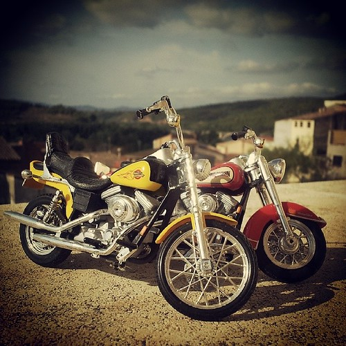 Harley-Davidson miniatures