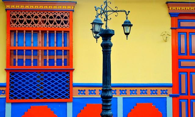 Los colores de Guatape...