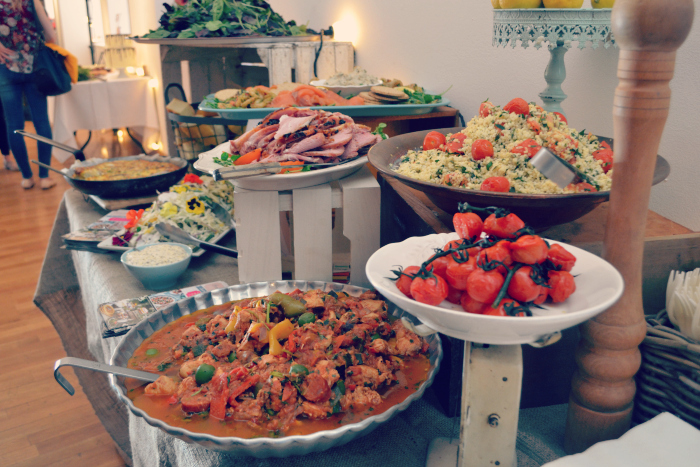 Glasgow wedding collective food