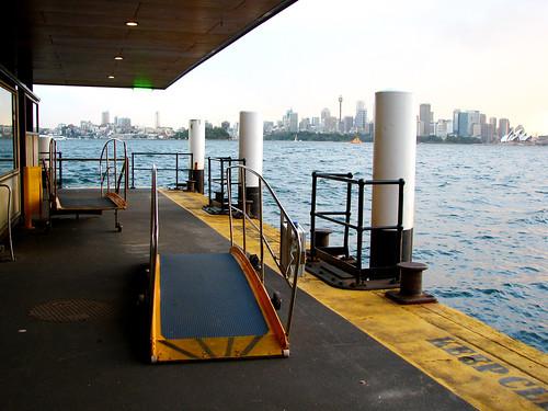 gangplanks and pylons