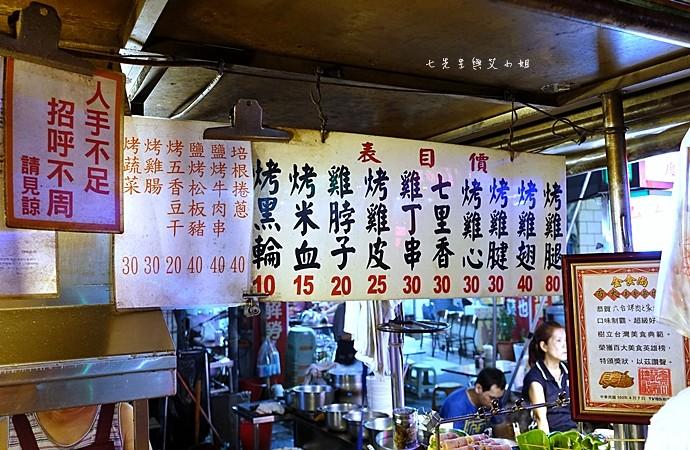 4 高雄六合夜市烤肉之家鄭老牌木瓜牛奶