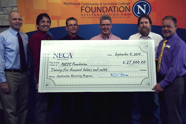 2014 Dakotas Chapter NECA Donation