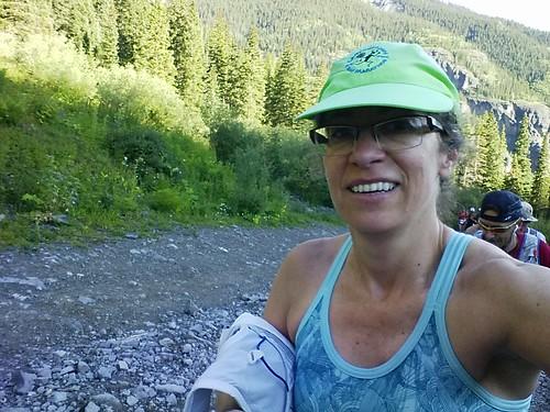 Selfie above Lower Camp Bird