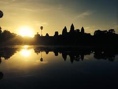 Sunrise at Angkor Wat - 096