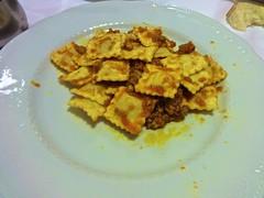cheese ravioli Trattoria Rivetta