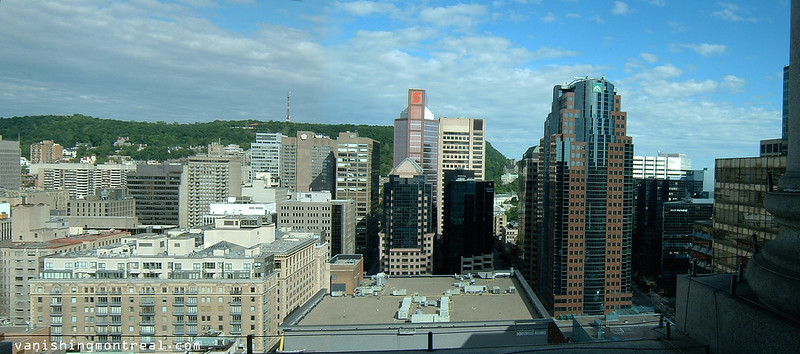 Downtown Montreal (from Sunlife building - 2007) - panoramic 3