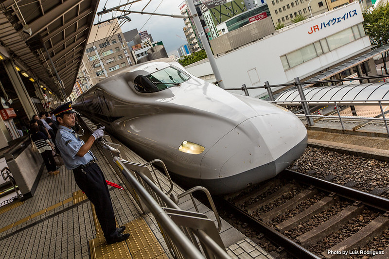 Shinkansen N700 en Nagoya