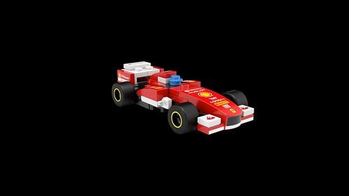 LEGO Shell Ferrari F138