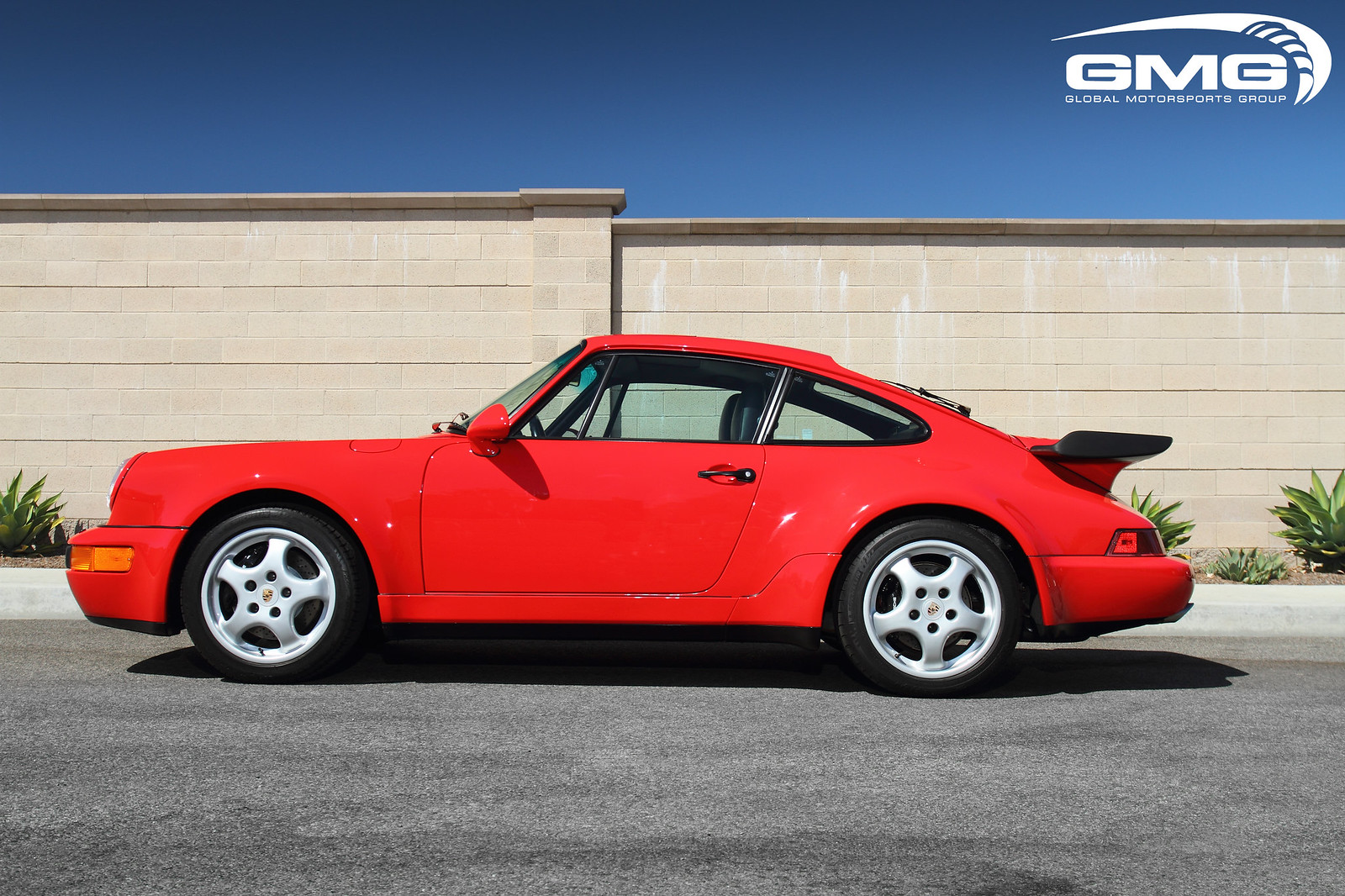 1992 Red Porsche 964 Turbo Mechanical Preservation Major