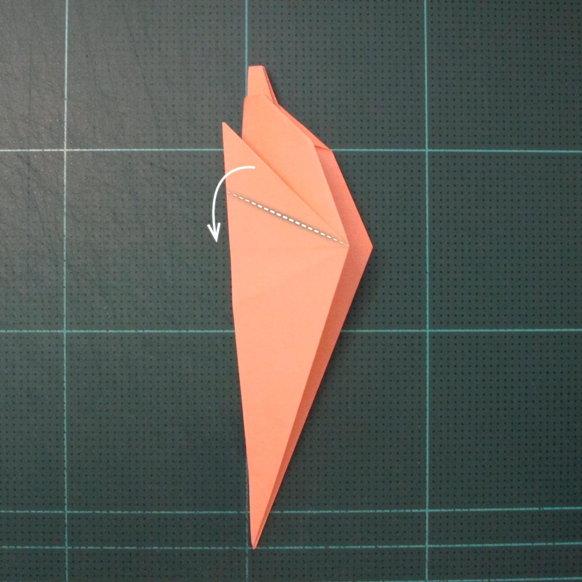 วิธีพับกระดาษเป็นรูปปลาโลมาแบบง่าย (Easy Origami Dolphin) 010