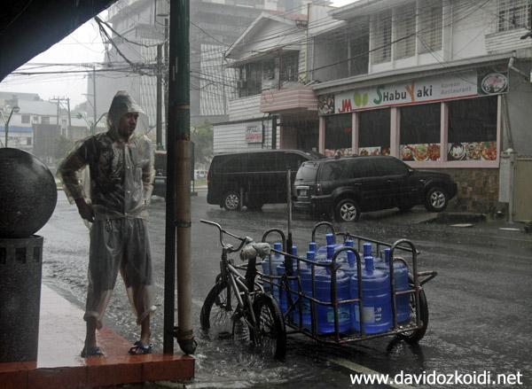 Mateo Typhon, Manila