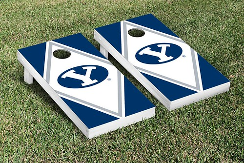 Brigham Young University BYU Cougars Cornhole Game Set Diamond Version