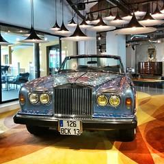 automobile, automotive exterior, rolls-royce, executive car, rolls-royce corniche, vehicle, automotive design, auto show, antique car, vintage car, land vehicle, luxury vehicle,